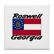 Roswell Georgia Tile Coaster