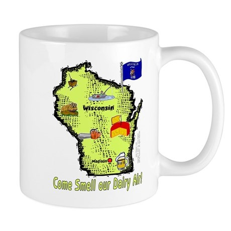 WI-Dairy Air! Mug