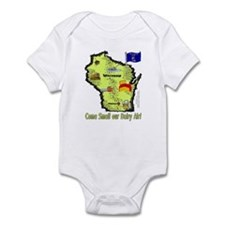 WI-Dairy Air! Infant Bodysuit
