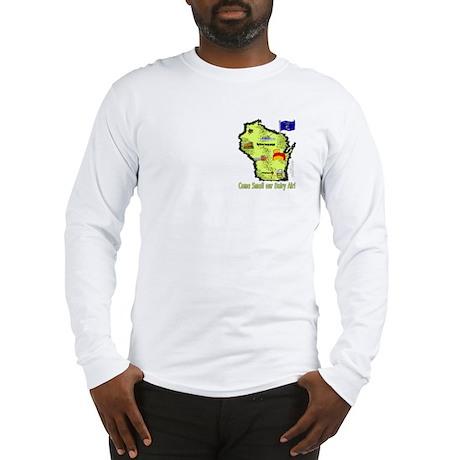 WI-Dairy Air! Long Sleeve T-Shirt