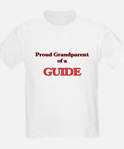 Proud Grandparent of a Guide T-Shirt
