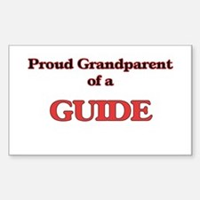 Proud Grandparent of a Guide Decal