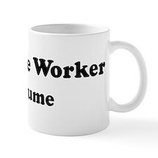 Longshore Worker costume Mug