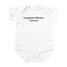 Longshore Worker costume Infant Bodysuit