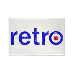 Retro Rectangle Magnet (10 pack)