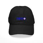 Retro Black Cap
