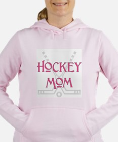 HockeyMomSticksPink.png Women's Hooded Sweatshirt