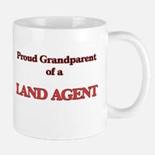 Proud Grandparent of a Land Agent Mugs