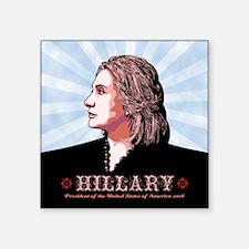 """Hill Side Square Sticker 3"""" x 3"""""""