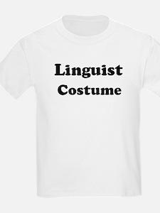 Linguist costume T-Shirt