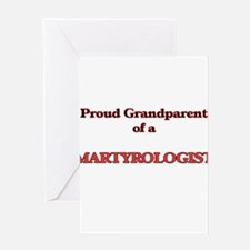 Proud Grandparent of a Martyrologis Greeting Cards
