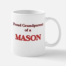 Proud Grandparent of a Mason Mugs