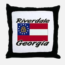 Riverdale Georgia Throw Pillow