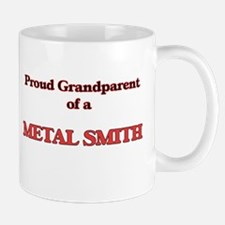 Proud Grandparent of a Metal Smith Mugs