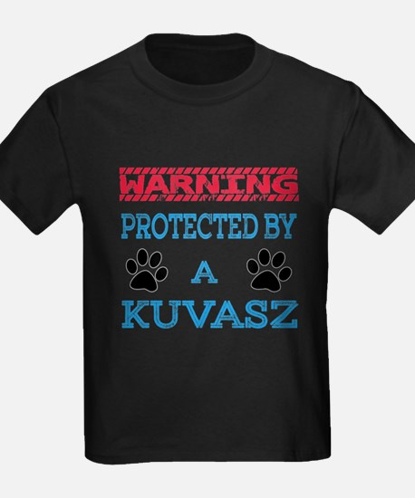 Warning Protected by a Kuvasz T
