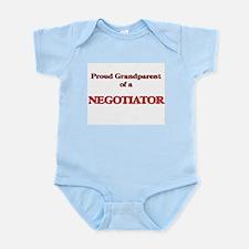 Proud Grandparent of a Negotiator Body Suit