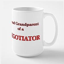 Proud Grandparent of a Negotiator Mugs