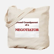 Proud Grandparent of a Negotiator Tote Bag