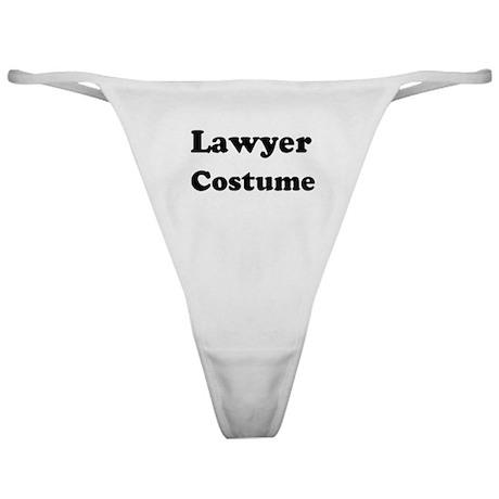 Lawyer costume Classic Thong