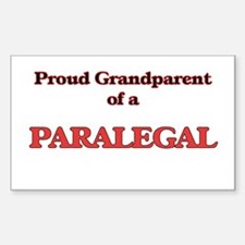 Proud Grandparent of a Paralegal Decal