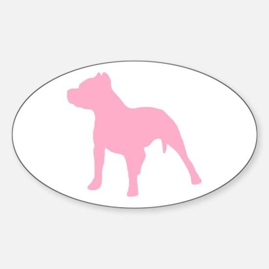 Pitbull Pink 1C Decal