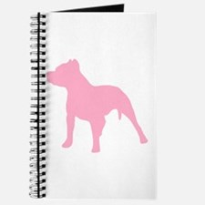 Pitbull Pink 1C Journal