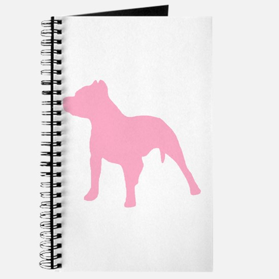 Pitbull Pink 1C Journal