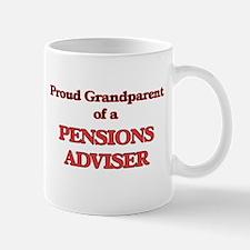 Proud Grandparent of a Pensions Adviser Mugs