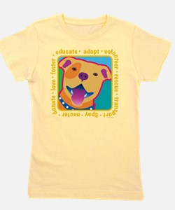 Cute Volunteers Girl's Tee