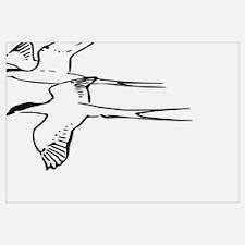 Funny Arctic tern Wall Art