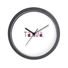 Tanya Wall Clock