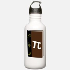 Funny Math and music Water Bottle