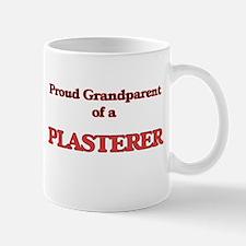 Proud Grandparent of a Plasterer Mugs