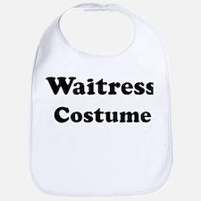 Waitress costume Bib