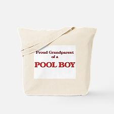 Proud Grandparent of a Pool Boy Tote Bag