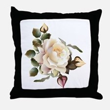 Beautiful Victorian Roses Throw Pillow