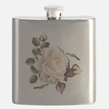 Beautiful Victorian Roses Flask
