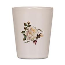 Beautiful Victorian Roses Shot Glass