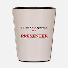 Proud Grandparent of a Presenter Shot Glass