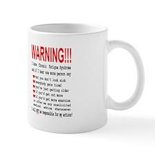 CFS WARNING & Respect Logo Small Mug