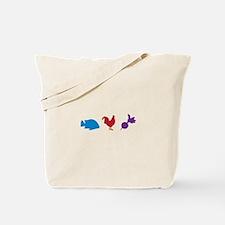 Fish Chicken & Radish Tote Bag