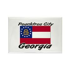 Peachtree City Georgia Rectangle Magnet