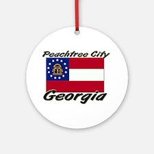 Peachtree City Georgia Ornament (Round)