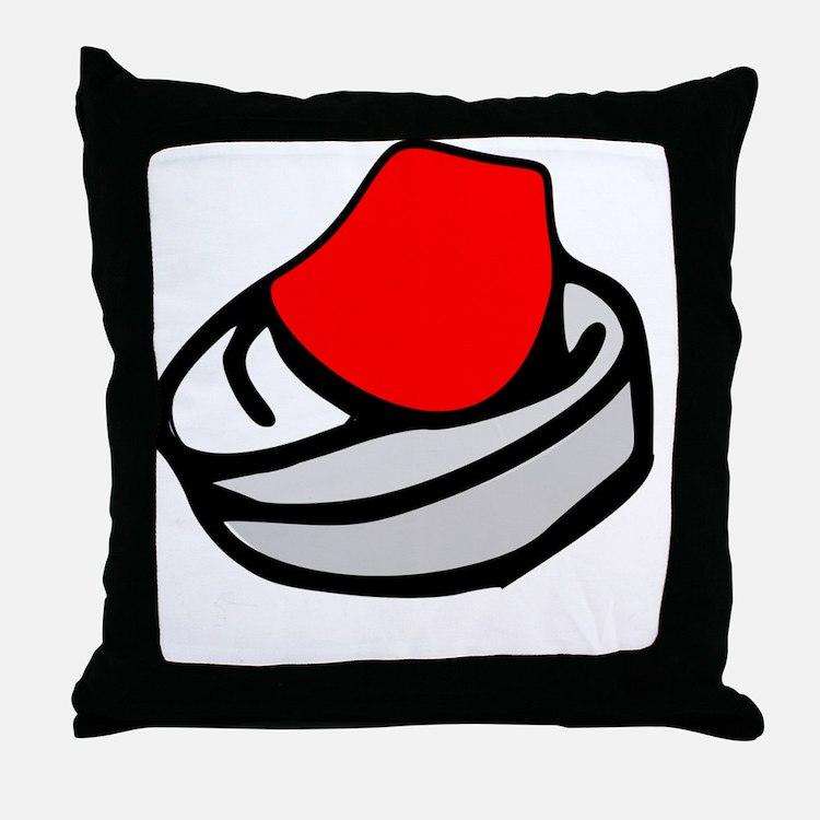Cute Turban Throw Pillow