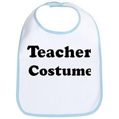 Teacher costume Bib