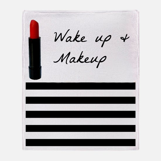 Unique Lipstick Throw Blanket