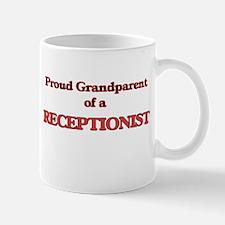 Proud Grandparent of a Receptionist Mugs