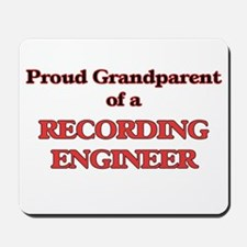 Proud Grandparent of a Recording Enginee Mousepad