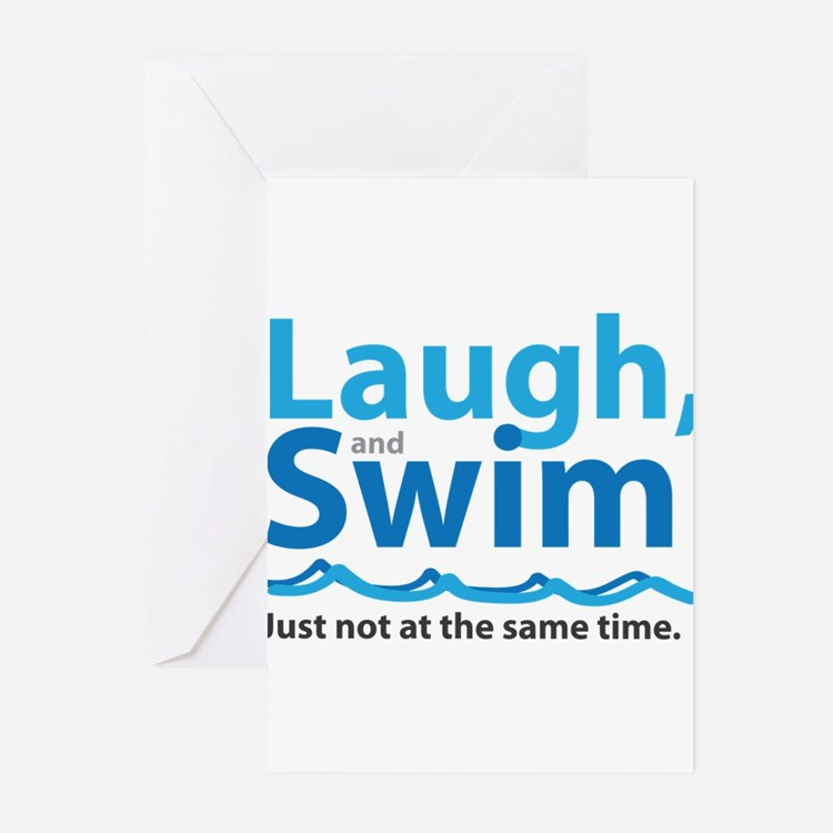 Cute Swim Greeting Cards (Pk of 10)