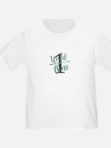 Wild One Baby's first birthday tshirt T-Shirt